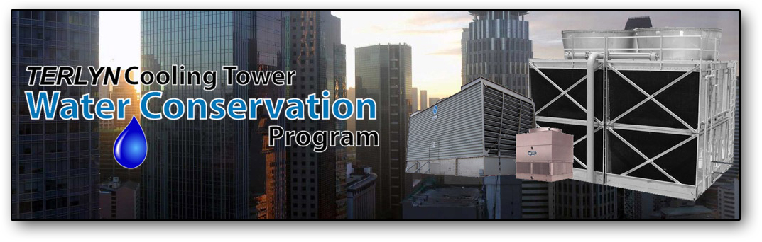 cooling tower water conservation